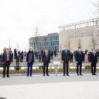 Inauguración del nuevo campus de Airbus